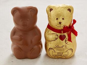 Lindt Teddys mit-ohne