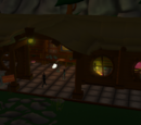Find Tyrah's Workshop in the basecamp and walk inside