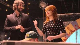 Josh Groban - Behind The Scenes Of Pure Imagination With Lindsey Stirling & The Muppets