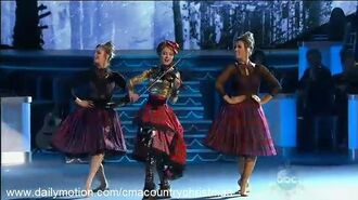 CMA Country Christmas 2015 - Lindsey Stirling - performance