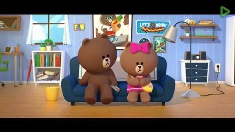 LINE FRIENDS新角色 – 熊大妹妹CHOCO-完整版-