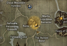 Defeat Reckless Monsters map