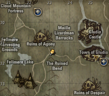 Tracing the Sakum's Location map