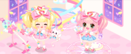 Magical Girl Luv-Luv Power Gacha Banner
