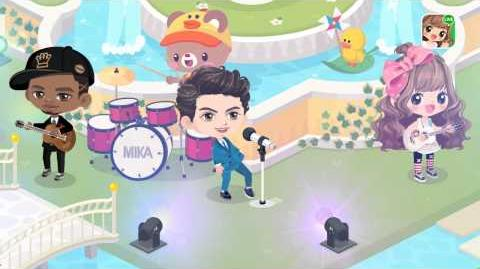 LINE PLAY Presents MIKA - Talk About You (Official Avatar Video)