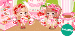 Spring cherry delight Gacha Banner