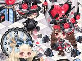 The Black Rabbit In Wonderland