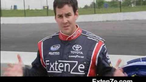 ExtenZe Nascar Commercial. NEW & IMPROVED EXTENZED VERSION