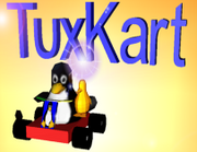Tuxkart title screen