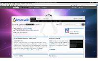 Linux Wiki w Konquerorze