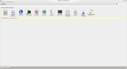 MintInstall - menu główne