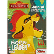 Lion Guard Colouring And Activity Book