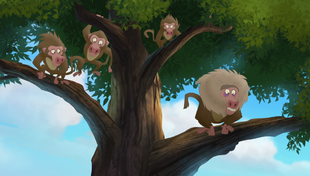 The Lion Guard (Olive Baboon)