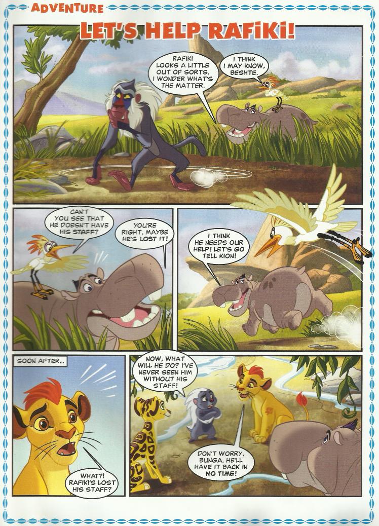 Let S Help Rafiki The Lion Guard Wiki Fandom Powered
