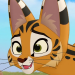 Maleserval-profile
