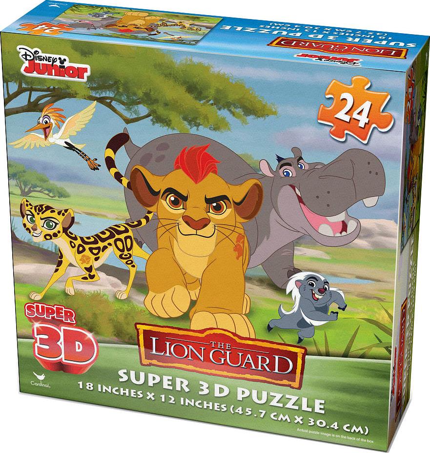 3D Puzzles 3D Puzzle Super 4 x 24-teilig Marvel Avengers Puzzle Pack Set