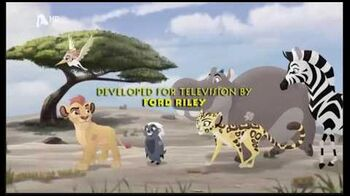 The Lion Guard - Trail to Hope credits (Greek)