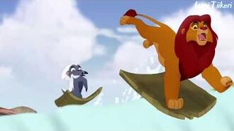 The Lion Guard - Running With The King (Finnish) HD