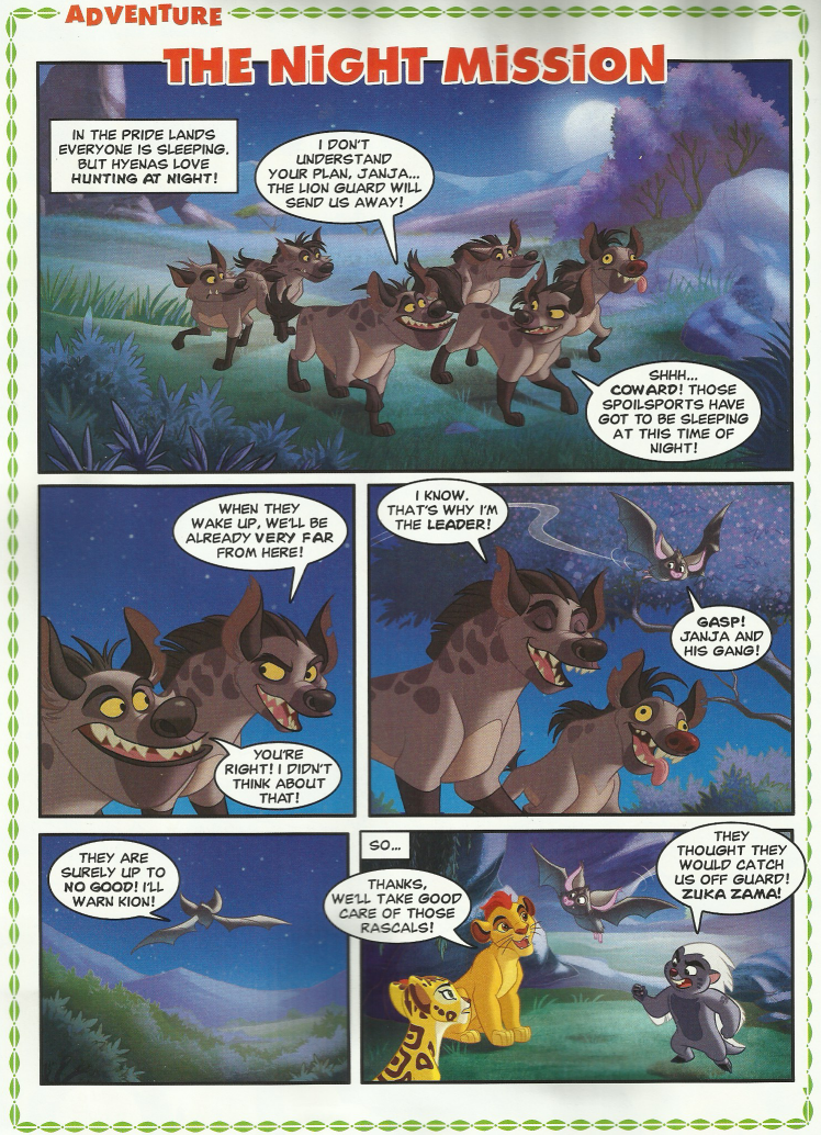 The Night Mission The Lion Guard Wiki Fandom Powered