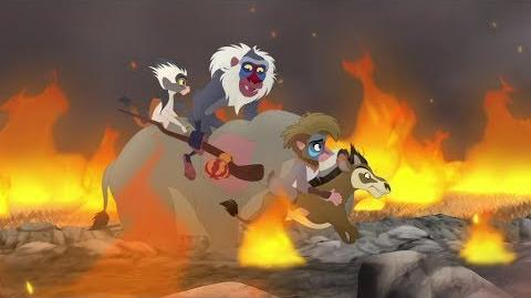 Kion's Roar of the Elders - Rafiki's New Neighbors