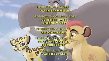The Lion Guard - Trail to Hope Credits (Turkish)