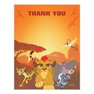 Lion guard thank you birthday card-r80a9d79063e9458c900baafc9afcd092 zk91q 540