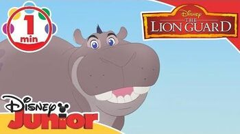 The Lion Guard Song - Look on the Bright Side ☀️ Disney Junior UK