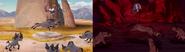Rafiki Fights Hyenas