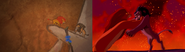 Simba battles Scar
