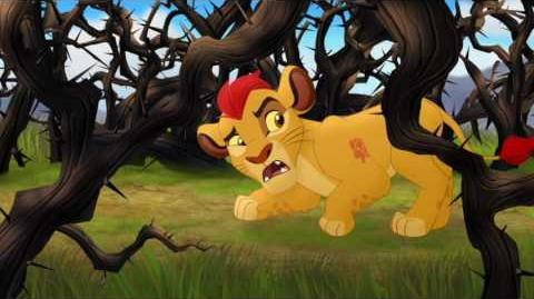 Nala, Kiara, Kion and the Thorn Bushes