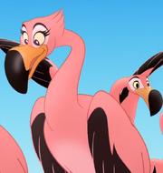 Flamingo Girl 1 Appearances