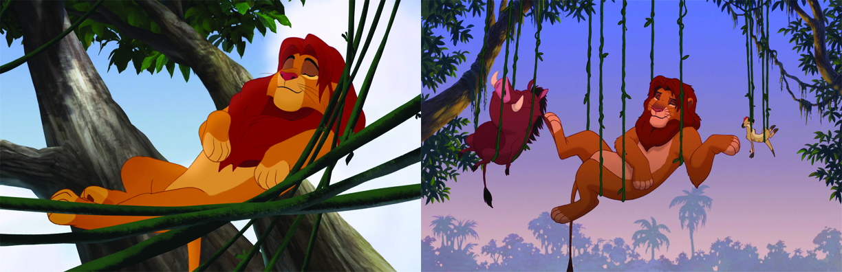 comparison of the lion king and I was just wondering if anybody is able to see some similarities (children-styled) between the odyssey and the lion king here are some that i noticed.