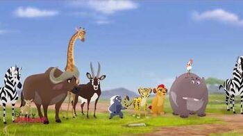 The Lion Guard - The Traveling Baboon Show (Romanian)