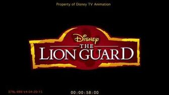 The Lion Guard Intro (Call of the Guard) Storyboard Animatic