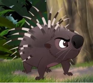 Výsledek obrázku pro lion king porcupine brothers