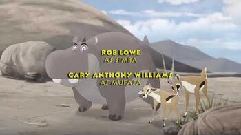 The lion Guard- Trail to Hope credits (Thai)