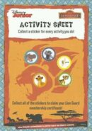 Lion Guard Activity Sheet (With Stickers)