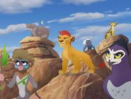 Lion Guard and Allies