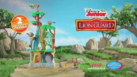Lion Guard Training Lair Play Set
