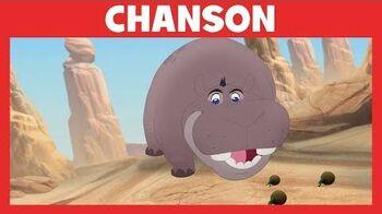 La Garde du Roi Lion - Chanson Je prends la vie du bon côté