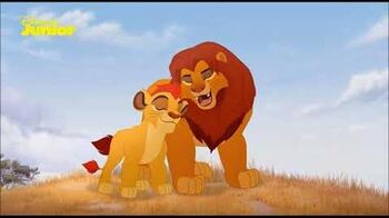 The Lion Guard The Path Of Honor (Swedish)