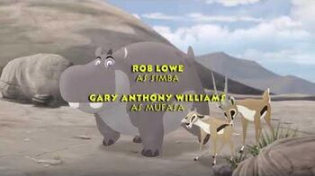 The lion Guard- Trail to Hope credits (Brazilian Portuguese)