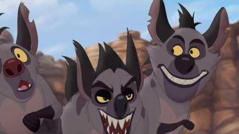 Jasiri and Kion battle Janja's Clan