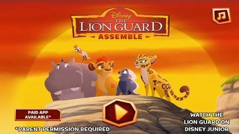 Lion Guard, Assemble! Demo Gameplay Link in description