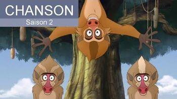 La Garde du Roi Lion - Les Babouins voyageurs font leur Show