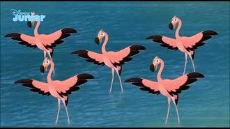 The Lion Guard Flamingo Dance Party (Danish)