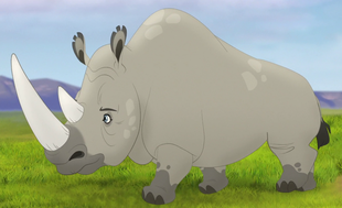 The Lion Guard (White Rhinoceros)