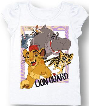 The Lion Guard Boys Disney Toddler Royal Blue Short Sleeve T Shirt New NWT