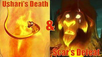 Scar's Defeat & Ushari's Death