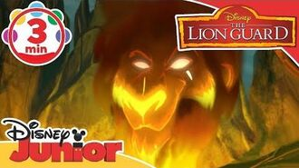 The Lion Guard I Have A Plan Song - Scar 🦁 Disney Junior UK